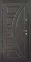 Входная металлическая дверь МДФ/МДФ Престиж 906 (венге)