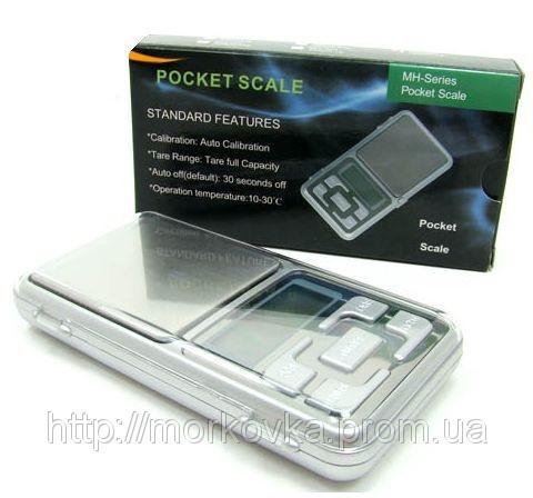 🔥✅ Карманные ювелирные весы 0,01 - 200 гр Pocket scale MH-200, Портативные, электронные 200гр