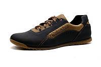 Кожаные кроссовки Columbia lorandi brown, фото 1
