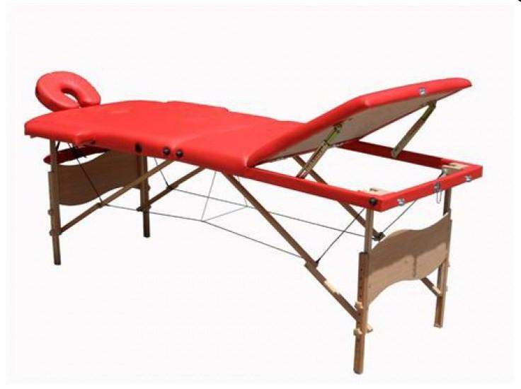 Массажный стол деревянный 3-х сегментный