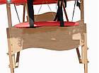 Масажний стіл дерев'яний 3-х сегментний складаний масажна кушетка для масажу, фото 7