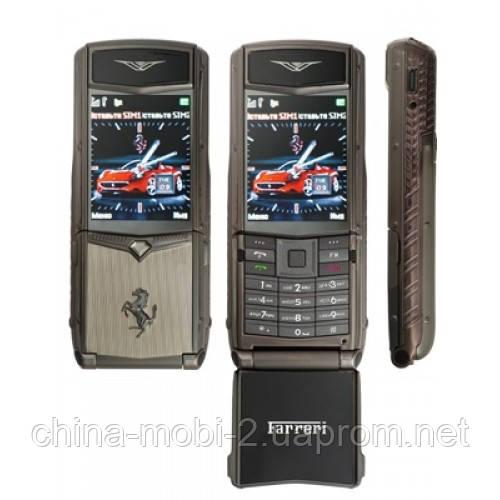 Телефон Vertu Ferrari F510 на 2 сим - Интернет-магазин Mobi-China в Киеве