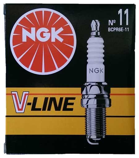 Свечи зажигания NGK V-LINE 11 (BCPR6E-11)