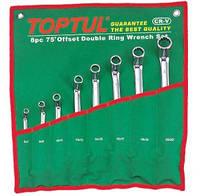Набор накидных ключей Toptul GAAA0810 (угол 75°) 8 шт