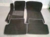 Коврики для Ланос текстильные черный ворс