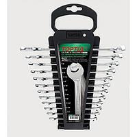 Набор ключей комбинированных Toptul GBAC1201 12 шт (дюймовые)