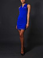 Синее спортивное платье - J.P.Gaultier