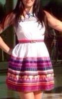 Платье летнее белое без рукава мини , фото 1