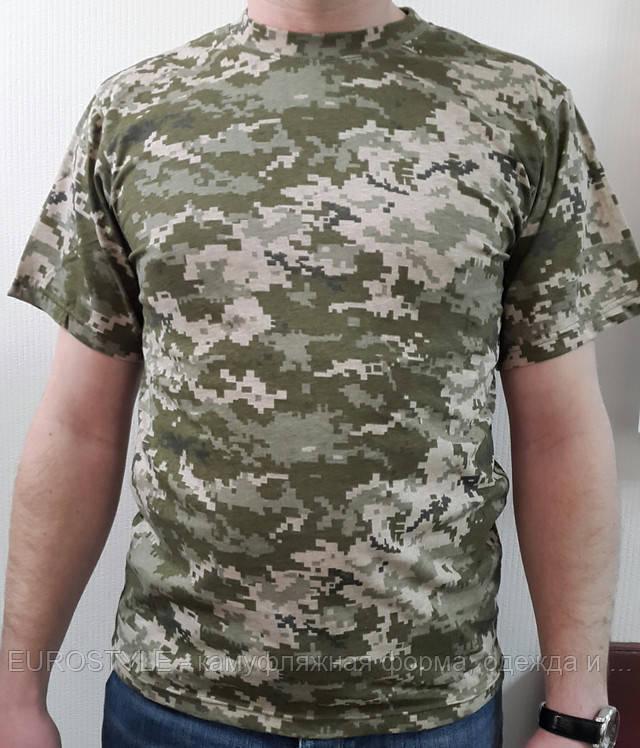 Футболка камуфляжная армейская пиксель ВСУ
