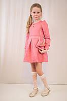 Детское оригинальное, стильное праздничное трикотажное платье с сумочкой.