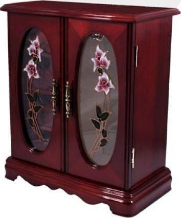 Прекрасный шкафчик для украшений King Wood 5194C венге