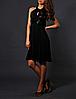 Черное вечернее платье Luisa Spagnoli