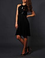 Черное вечернее платье Luisa Spagnoli, фото 1