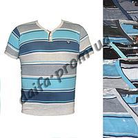 Мужская котоновая футболка поло  TG124k (в уп. до 5 расцветок) оптом со склада в Одессе(7км).
