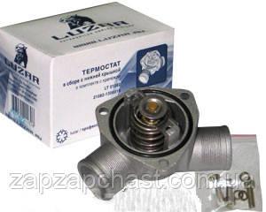 Термостат Ваз 21082 ЛУЗАР инжектор в сборе (нижняя часть) LT 01082