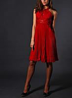 Красное вечернее платье Luisa Spagnoli