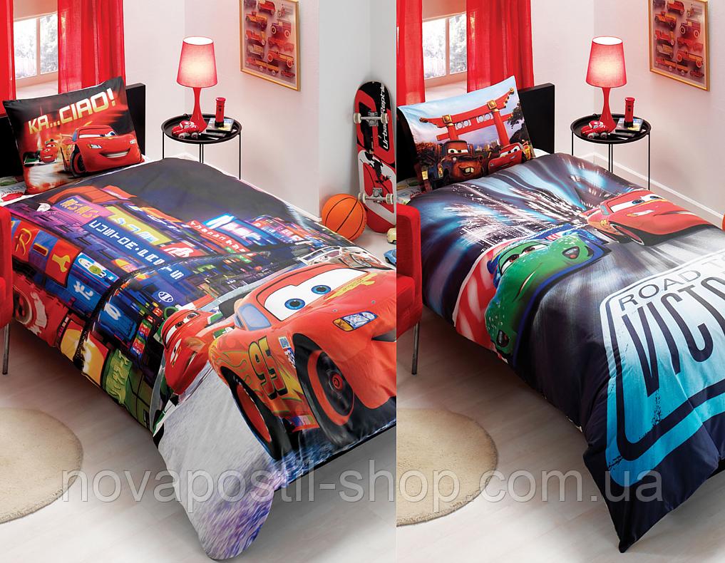Комплект постельного белья TAC Disney cars movie двусторонний