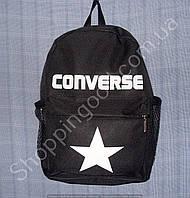 Детский рюкзак Converse 10 л 013757 черный с белой эмблемой спортивный школьный