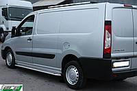 Peugeot Expert Боковые площадки Premium d42 короткая база