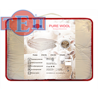 Одеяло шерстяное тeп «Pure Wool»