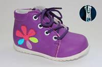 Детские ботинки для маленьких девочек 20,22-24р. маломерят!
