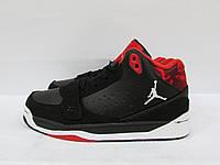 Кроссовки мужские Найк Jordan Phase (6306-15) черно-красные код 0131А