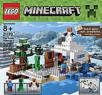 Лего Майнкрафт 21120 Снежное убежище LEGO Minecraft 21120 the Snow Hideout Building
