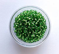 Бисер FGB Silver, светло зеленый