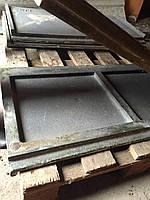 Литье стальное плита