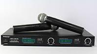 Радиосистема Shure DM LX 88-2, двухмикрофонная вокальная радиосистема shure, универсальная радиосистема