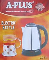 Электрический чайник А-плюс дисковый, 2л
