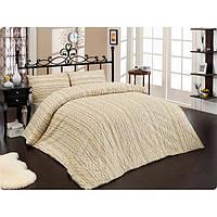 Altinbasak Eвро комплект постельного белья  Tweed cream