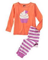 Пижама детская для девочки Crazy8, США (размер: 6,7,10,12):