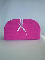 Сумочка декоративная розовая