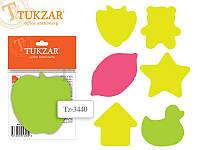 Стикеры TZ-3440 фигурный 100л