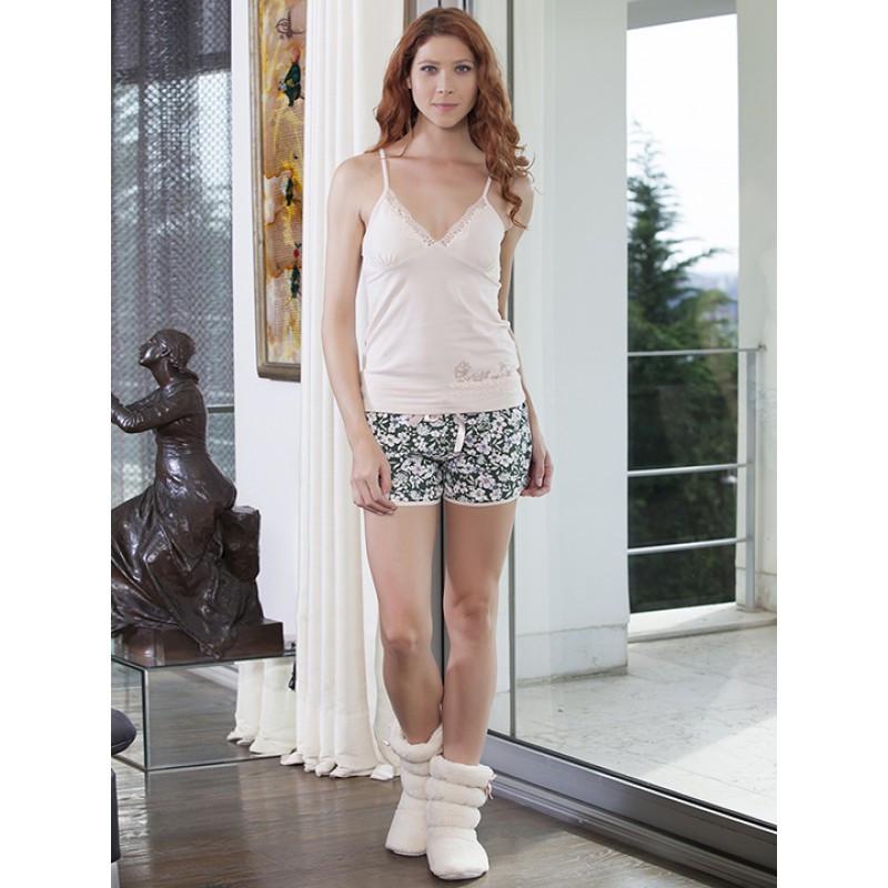 Літня жіноча піжама з майкою та шортами HAYS 4035