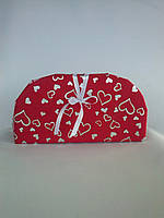 Сумочка декоративная красная