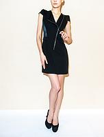 Черное платье на змейке - Byblos