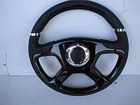 Руль автомобильный из черного африканского дерева гринадил №099