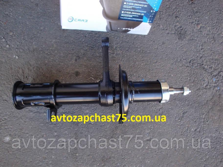 Амортизатор ВАЗ 2110, ваз 2111, ваз 2112 (стойка левая) масляная (Скопинский автоагрегатный завод, Россия)