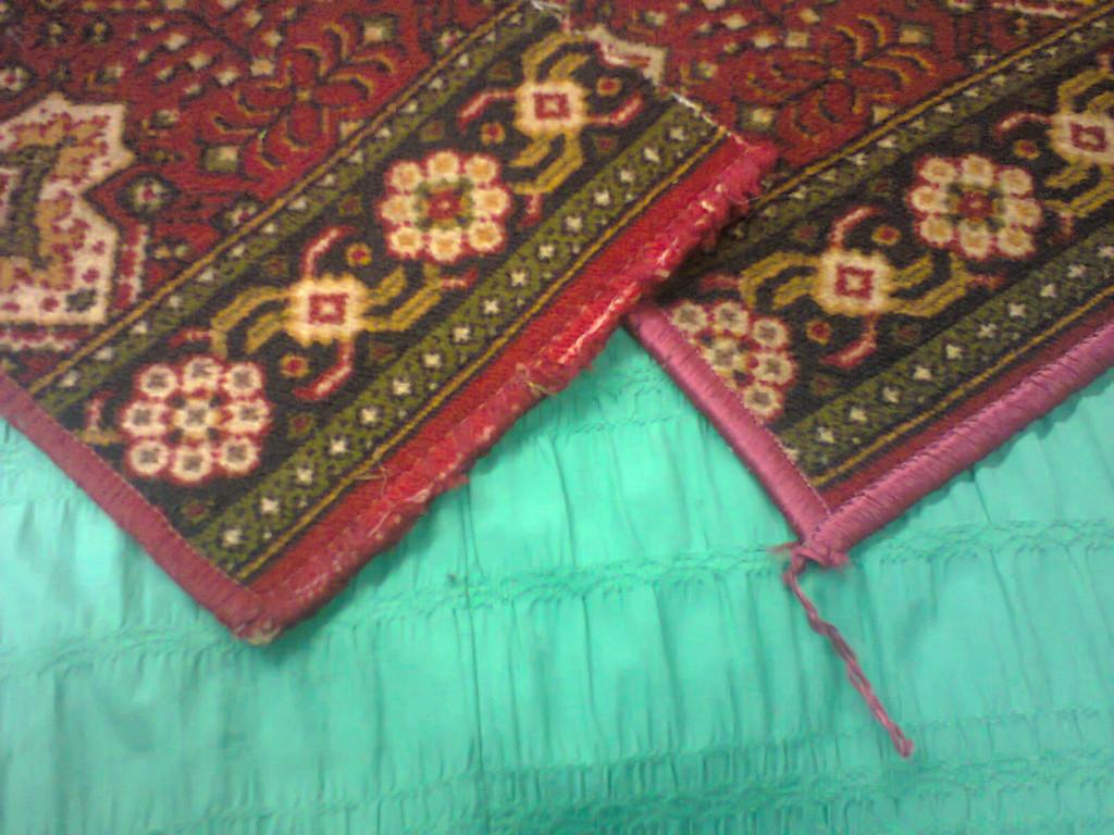 реставрация ковров ас-облик