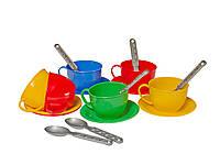 Посудка игрушечная Чайный сервиз в пакете, Технок, 0465