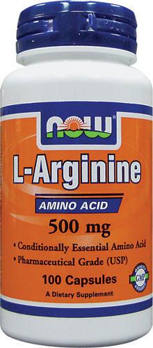 Аргинин (L-Arginine) (500mg) 100 caps - Интернет-магазин для здоровой жизни в Киеве