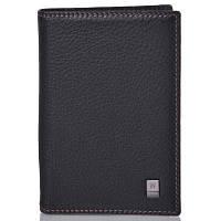 Кожаная мужская обложка для паспорта WANLIMA (ВАНЛИМА) W120475501498-black