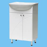 Тумба под рукомойник в ванную комнату Т-25 возможно нанесение лазерного Рисунка или Фрезировки