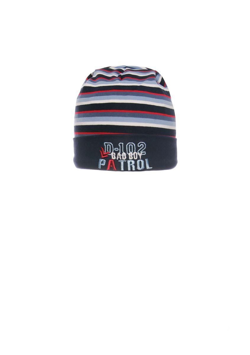 Весенняя, одинарная, трикотажная шапка для мальчика