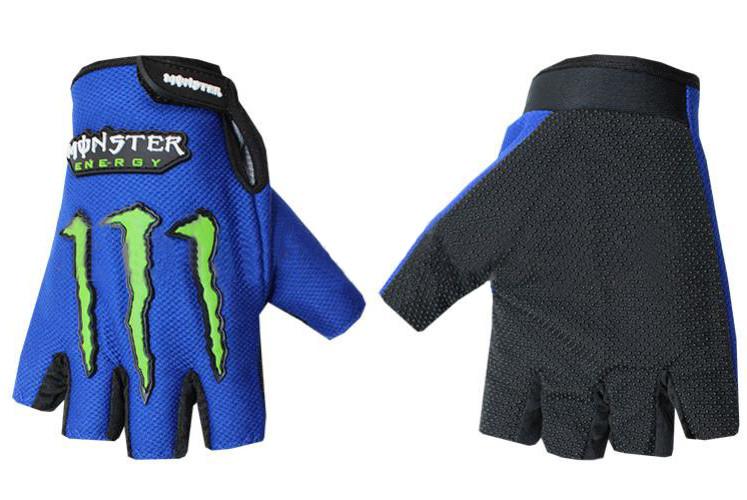 Вело-мото перчатки MONSTER BC-5090-BL(L)