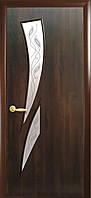 Двери межкомнатные  Камея экошпон венге 3д, дуб жемчужный, кедр, сандал, ясень патина, ольха, орех