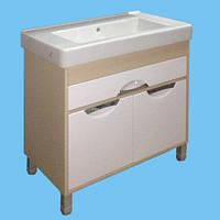 Тумба под умывальник для ванной комнаты Т-33 Венге светлый Карина