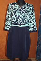 Платье больших размеров Роза, р.52-54, 54-56